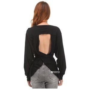 Zara backless tie shirt